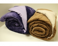 Ultra Soft Aloe Vera Infused Reversible Microplush Throw / Blanket